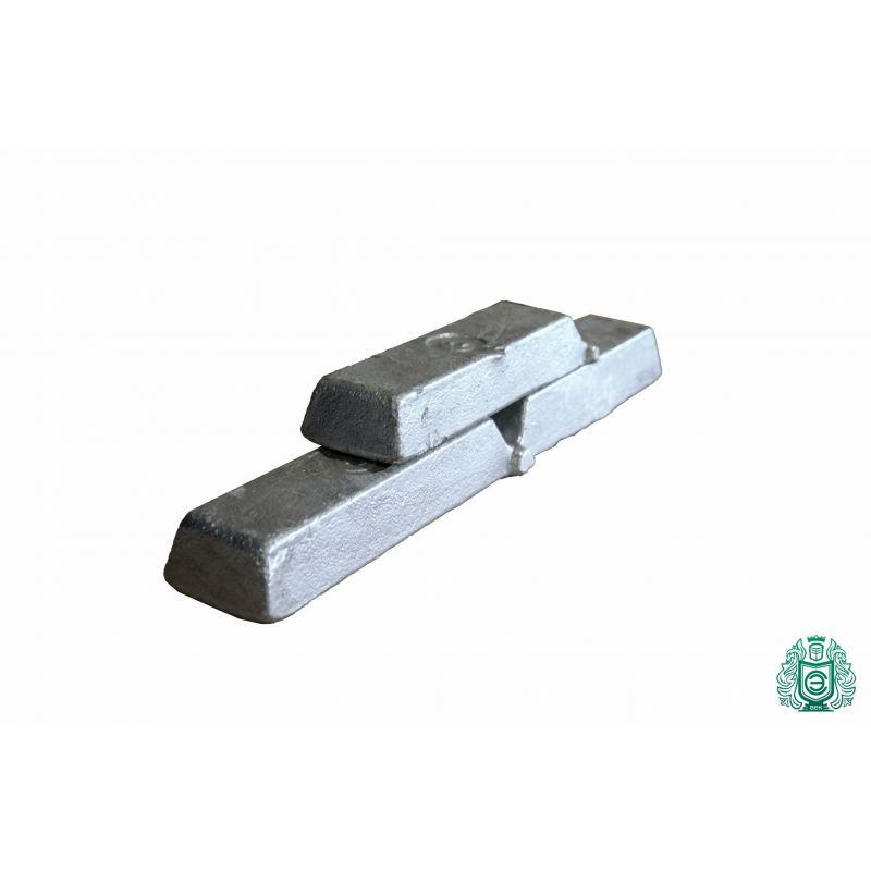 Hliníkové tyče 100gr-5,0 kg 99,9% AlMg1 hliníkové tyče z litého hliníku,  hliník