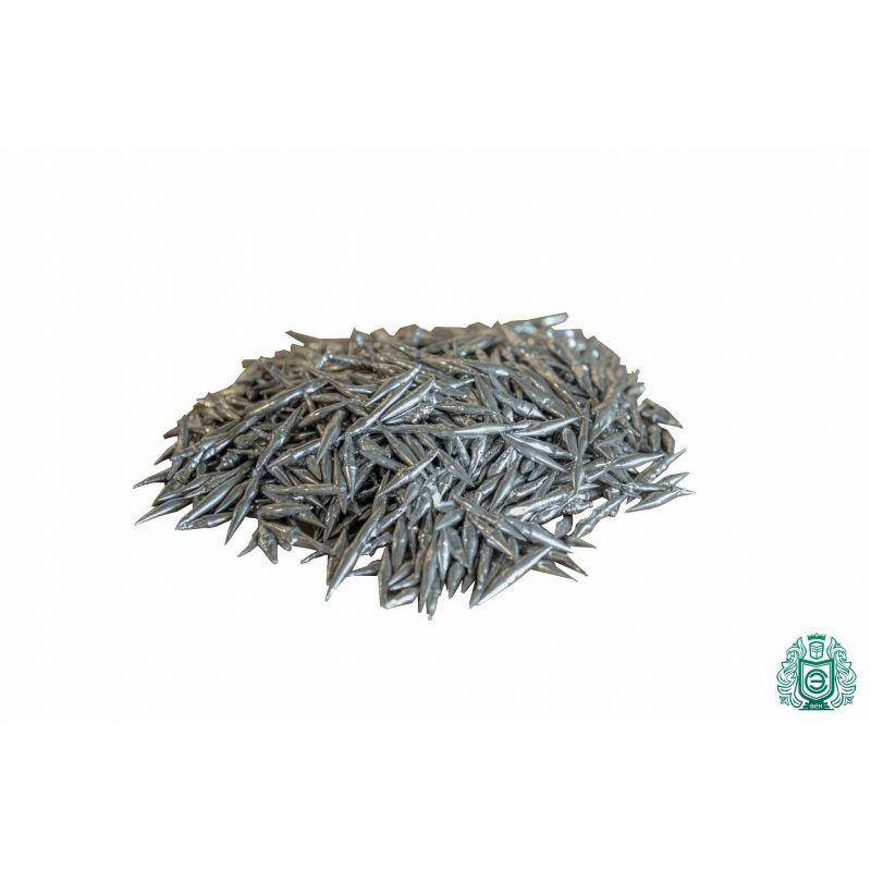 Bismuth Bi 99,95% Element 83 granulí 5 gramů až 5 kg čistého kovu Vizmut Vizmut, vzácné kovy