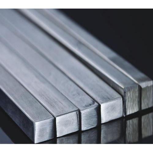 Čtvercová tyč z nerezové oceli plná čtvercová tyčová tyč V2A, nerezová ocel