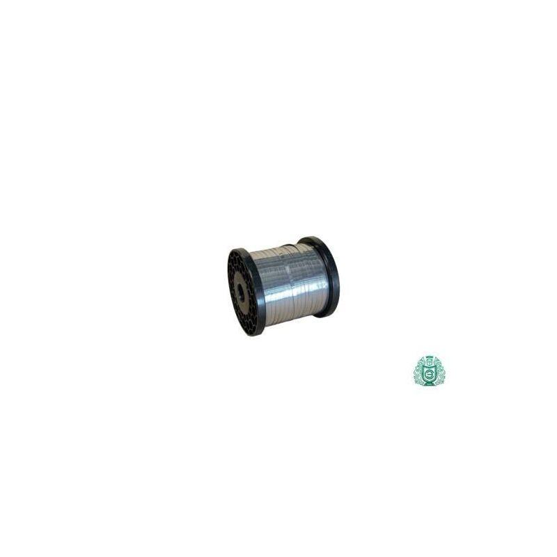 Pás z plochého drátu z nerezové oceli plochý vodič 0,4x45mm, 0,8x20mm V2A 1,4301 304 stuha, nerezová ocel