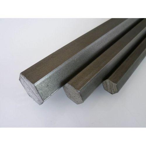 Nerezová ocel šestihran SW 4mm-17mm šestihranná tyč 1.4305 VA V2A 303 šestihranná tyč, nerezová ocel