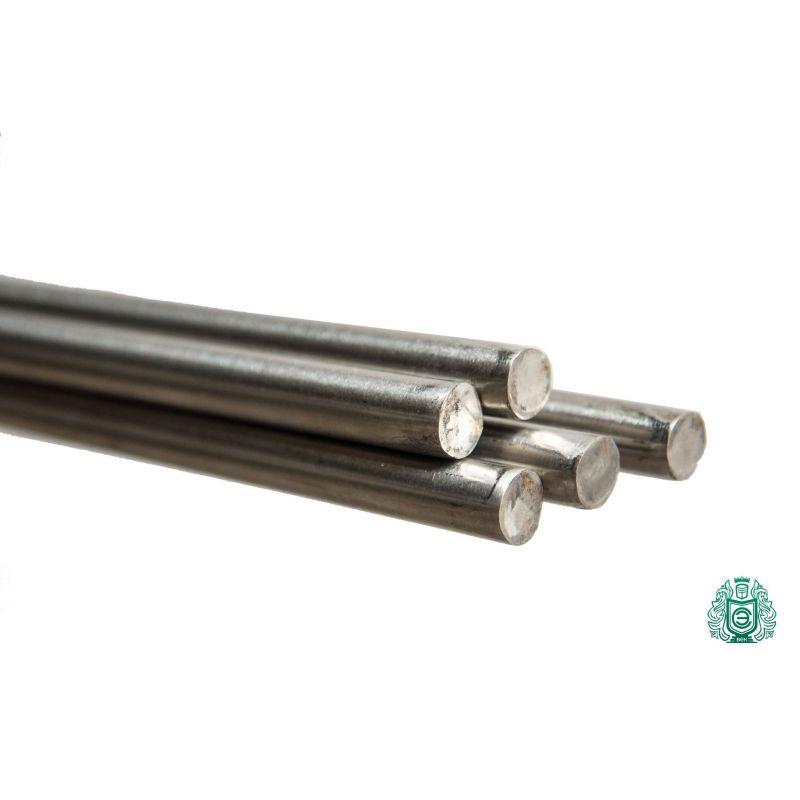 Nerezová tyč 4mm-75mm 1,4301 V2A 304 kruhová tyč kruhová ocelová tyč 2 metry,  nerezová ocel