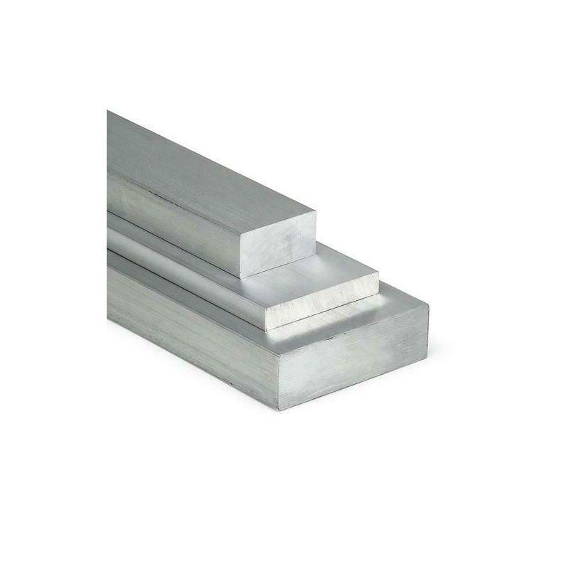 Hliníková plochá tyč 15x10mm-100x15mm AlMgSi0.5 plochý materiál hliníkový profil ploché železo,  hliník