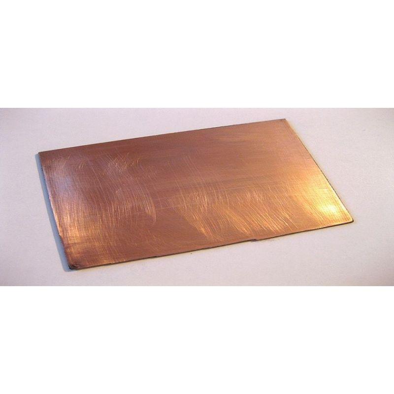 Měděná fosforová 99% čistá anodová elektroda 10x200x50-10x200x1000 mm,  měď