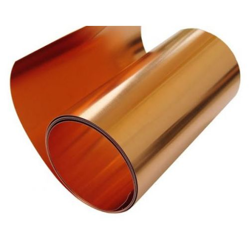 Měděná páska 0,1 x 600 mm měděná páska 0,1 až 100 metrů,  měď