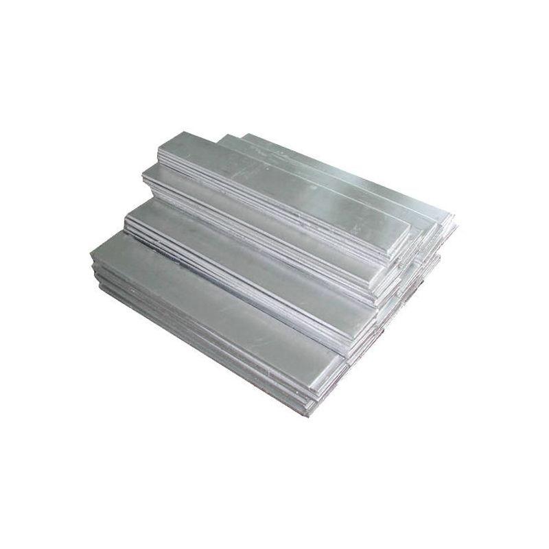 Nikl 99% čistý anodový plech 8x200x50-8x200x1000mm surová galvanická elektrolýza, slitina niklu