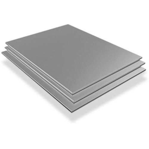 Plech z nerezové oceli 0,5 mm až 1 mm V2A 1,4301 plechů oříznutých od 100 mm do 1 000 mm,  nerezová ocel
