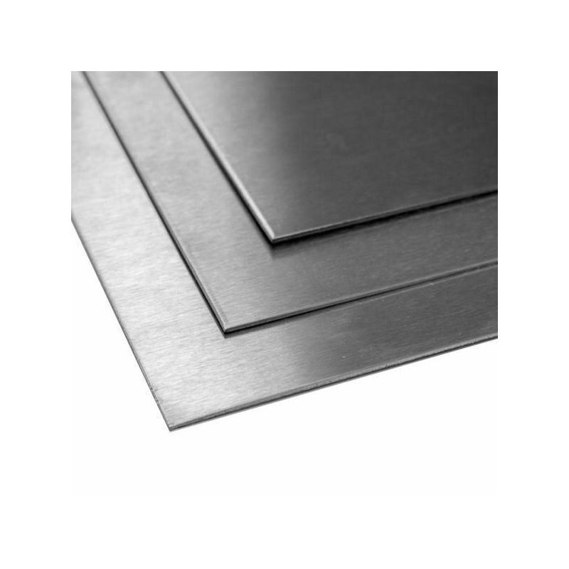 Titanový plech 1 mm 3,7035 Listy 2 listů ořezu 100 mm až 2000 mm, titan