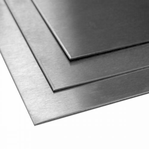 Titanový plech 2mm 3.7035 Desky 2 plechů ořezu 100 mm až 2000 mm, titan