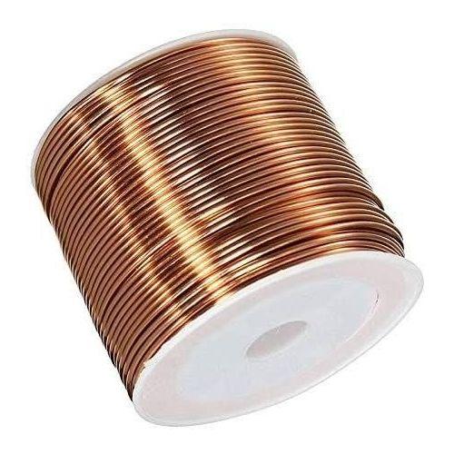 Měděný drát Ø0,05 - 2,8 mm lakovaný drát Cu 99,9 wnr 2,0090 řemeslný drát 2-750 metrů,  měď