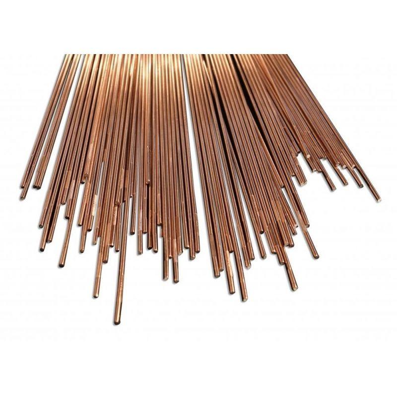 Svařovací elektrody Svařovací drátěná ocel o průměru 0,8–5 mm, svařovací tyče CrMo2Si 90 s-g,  Svařování a pájení