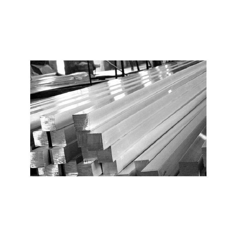 Čtvercová tyč St35 Ř5x5-40x40mm ocel Čtvercová tyč Fe čtvercová ocel pevný materiál 2 metry,  ocel