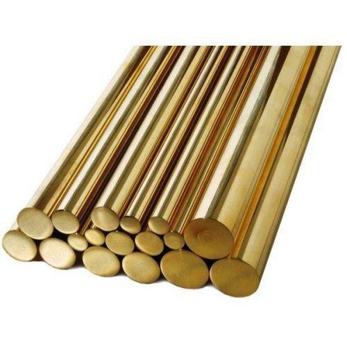Tyč Ø1,5-60 mm mosaz 2.0401 Ms58 kulatá tyč tyč kulatý materiál, mosaz