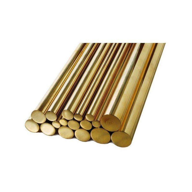 Prut Ø1,5-60mm mosaz 2.0401 Ms58 kulatý prut kulatý materiál, mosaz