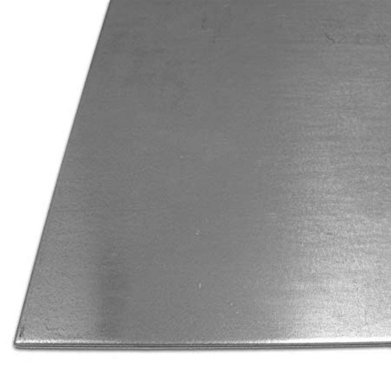 Plech ocelový 1mm pozinkovaný plech ocelový plech železo 100 mm až 2000 mm,  ocel