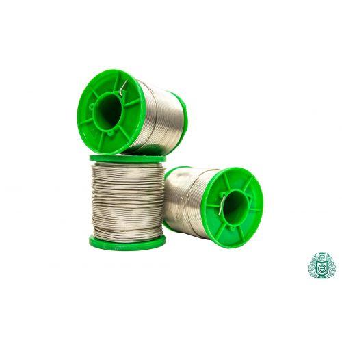 Pájecí cín Sn99Cu1 dia 1,5 mm s tekutým 2,5% bezolovnatým 25gr-1kg, svařování a pájení