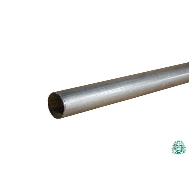 Pozinkovaná ocelová trubka konstrukce trubka zábradlí kovový kruh Ø 50x1,4mm