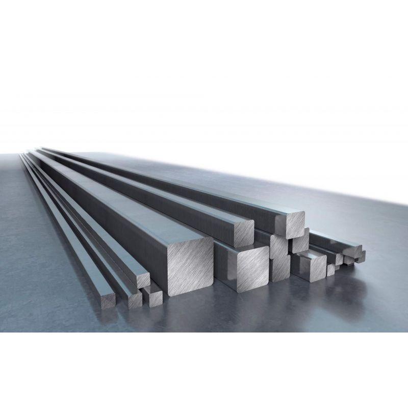 Hliníkový čtyřhranný prut s čtvercovým prutem o průměru 8 - 80 mm