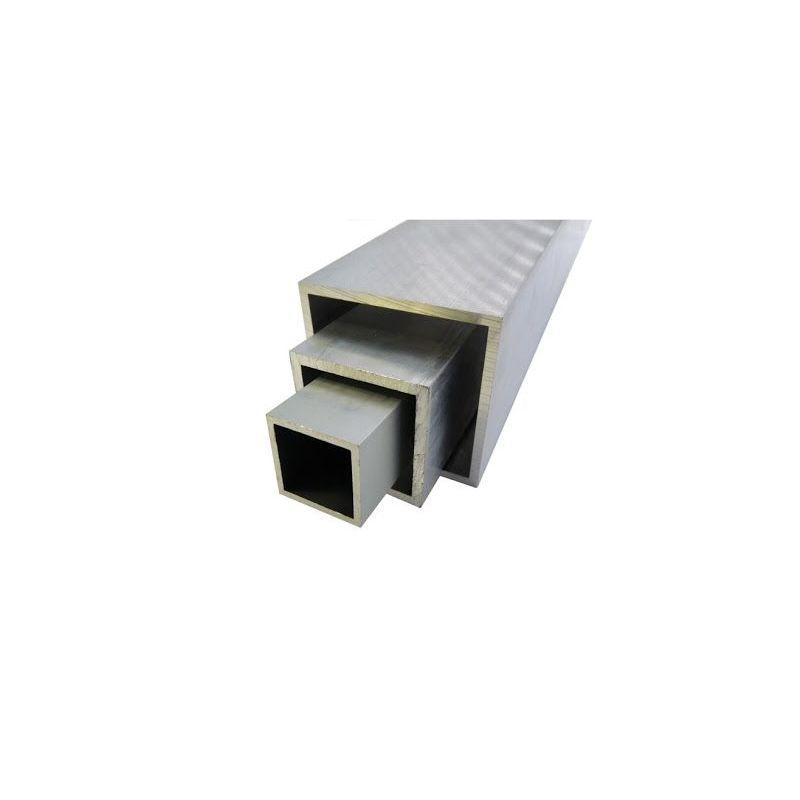 Hliníková čtvercová trubka 20x20x2-100x100x4mm AlMgSi0,5 čtvercová trubka 0,2-2 metry