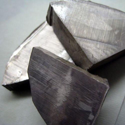 Lithium vysoce čistý 99,9% kovový prvek Li 3 bary 5gr-5kg