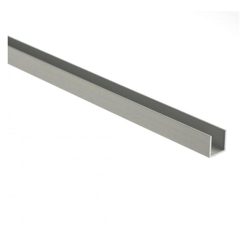 Hliníkové rovnoramenné U profily 30x20x2mm-80x20x2mm hliníkový úhelník