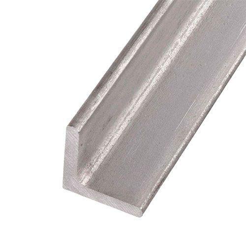 Úhelník rovný s profilem L z nerezové oceli 40x40x4mm-60x60x6mm 0,25-2 Met