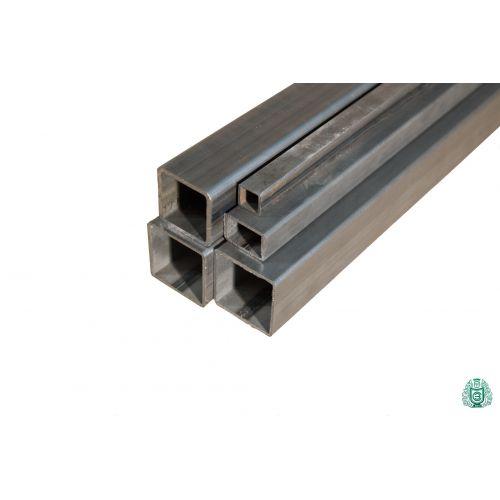 Čtvercová trubka ocelová trubka s dutým profilem ocelová čtvercová trubka o průměru 12x12x1,5 až 100x100x3 0,2-2 metry