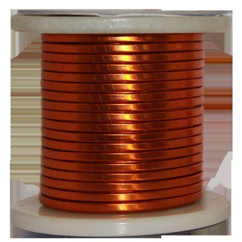 Plochý smaltovaný drát Ø 5-18mm měděný drát W200 plochá tyč Cu 99,9% smaltovaný drát řemeslného drátu