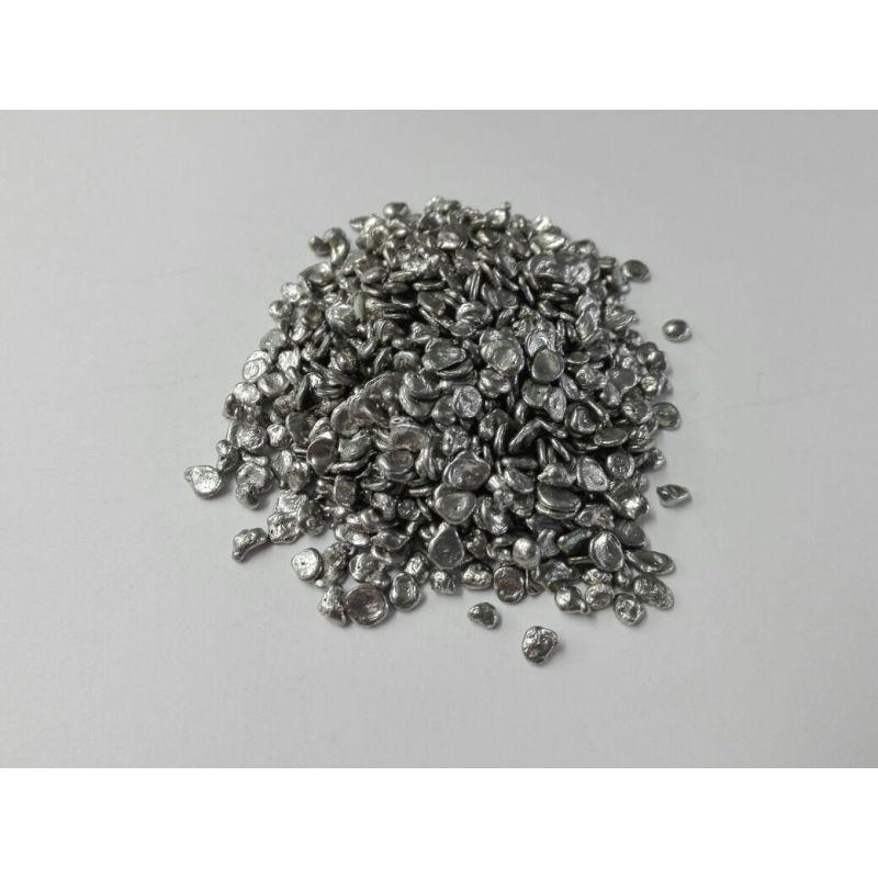 Růžová kovová BiPbSn nízkotající slitinová granulátová pájka 5gr-5kg