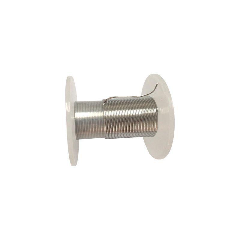 Indiový drát 99,9% od čistého kovového prvku Ř 0,5 mm do Ř 5 mm 49 Drát