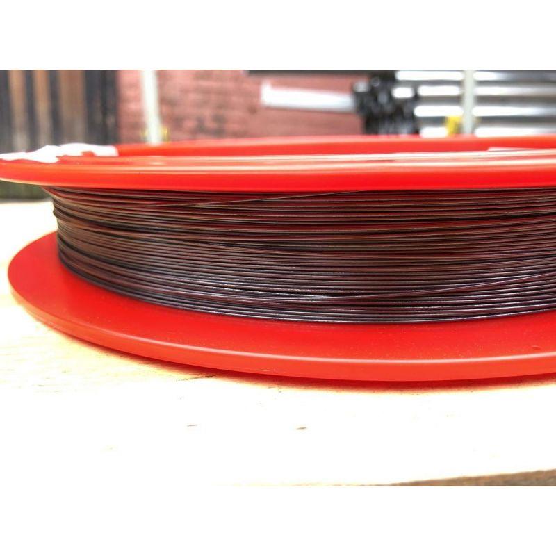 Wolframový drát 99,9% od Ø 0,02 mm do Ø 5 mm čistého kovového prvku 74 Drátěný wolfram