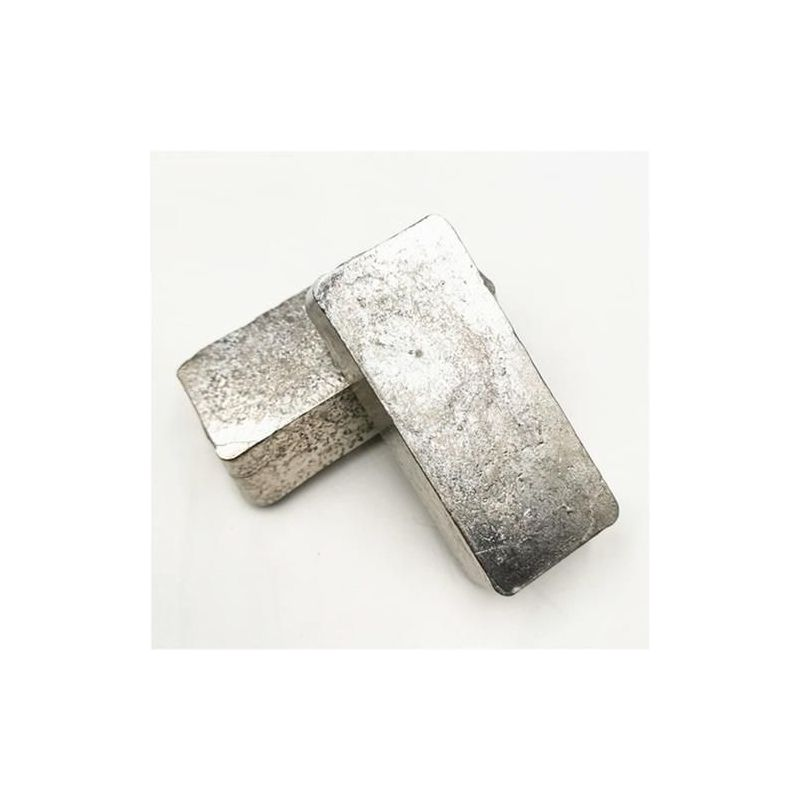 Bismuth Bi 99,95% prvek 83 barů Vizmut bismutu z čistého kovu o hmotnosti 5 gramů až 5 kg