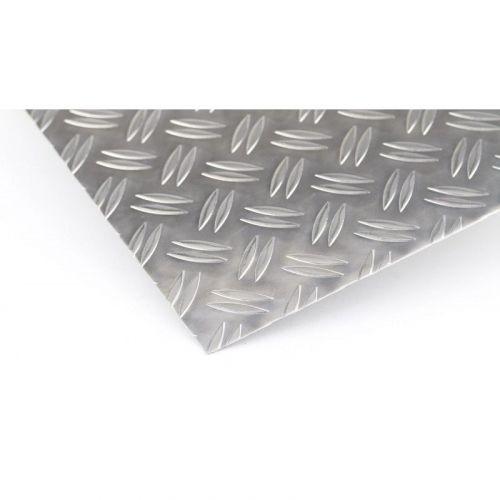 Hliníková šachovnice 1,5 / 2 mm - 5 / 6,5 mm Duettovy desky Al plechy Hliníkový plech tenký plech