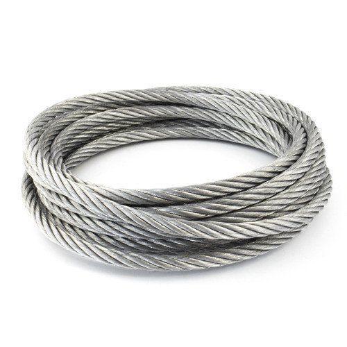 Nerezové ocelové lano o průměru 1-8 mm 1,4406 V4A 5-250 metrů ocelové lano 7x7 a 7x19