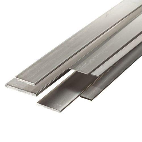 Ocelová plochá tyč 30x2mm-90x12mm pásy plechu rozřezané na 2 metry
