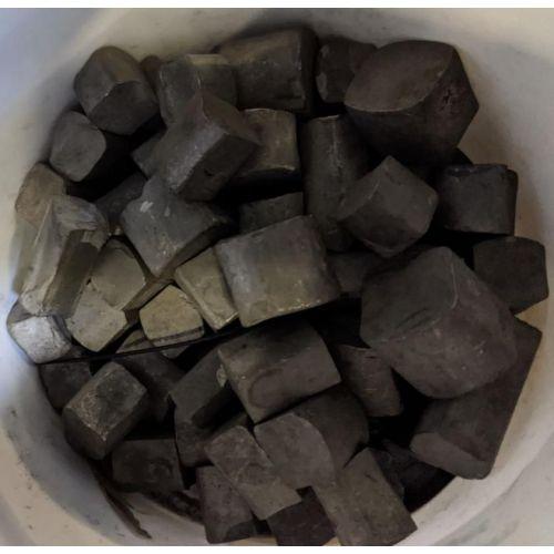 Wolframový šrot W 99,9% prvek 74 Nugget čistý kov 1 g-10 kg wolframu