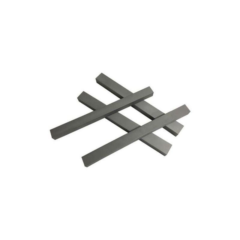 Wolfram 99% prvek 74 Kovové pásy z čistého kovu Wolframové pásy 0,2x20x104mm