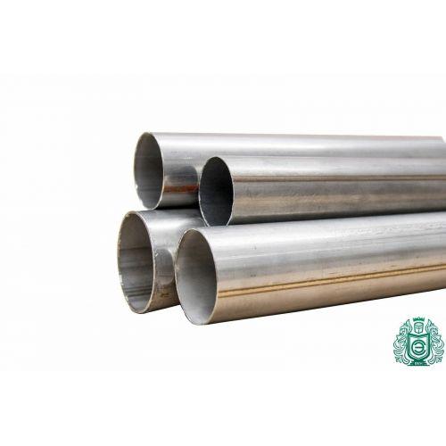 Trubka z nerezové oceli Ø 14x2-134x4mm 1.4301 kulatá trubka 304 V2A výfukové zábradlí 0,25-2 metry
