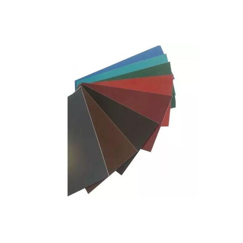 Ocelová plochá lišta 0,5 mm barevné pásy plechové řezané na velikost 0,5–1 metr