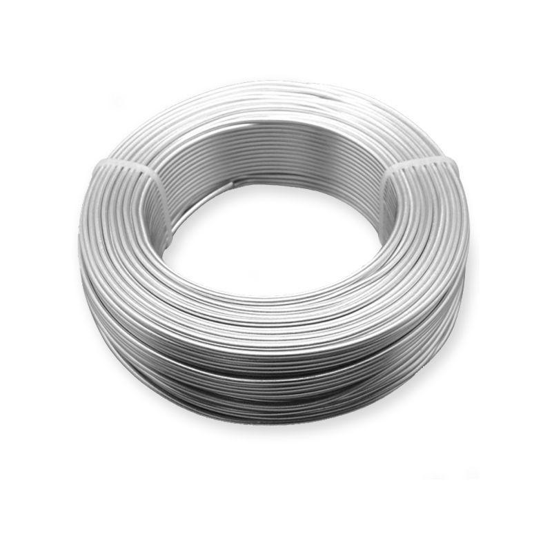 Ř 0,5-5 mm hliníkový drát vázací drát zahradní drát řemesla 2-750 metrů