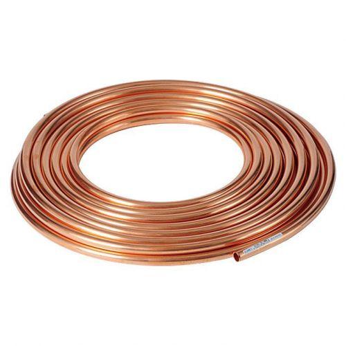 Měděná trubka 3x0,5mm-4x1mm měkká žíhaná v kruhové vodě OIL GAS topení 1-50 metrů,  měď