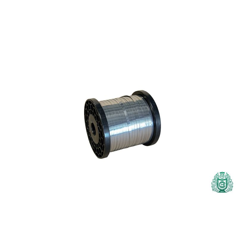 Nichromová páska 0.1x0.5mm - 0.5x10mm plechová páska 2.4869 plochá drátová páska 1-100 metrů,  Slitina niklu