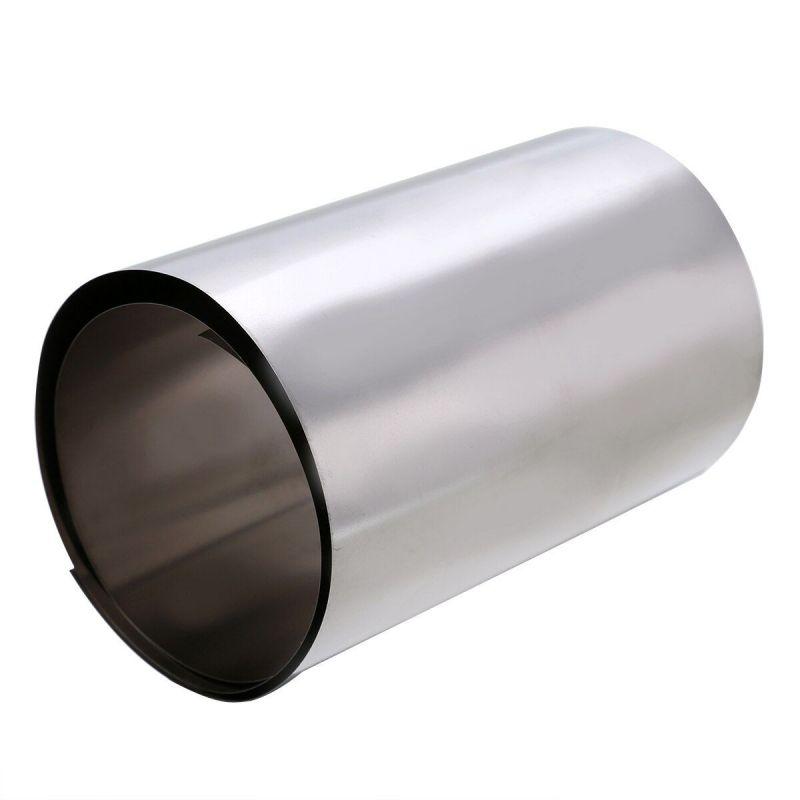 Titanový pásek 0,1x300 mm, páska z titanové fólie stupně 1, deska 3,7025, fólie 0,05-1 metr, titan