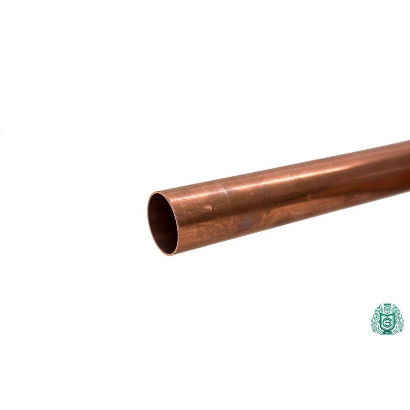 Měděná trubka 3x0,5mm-54x1,5mm tyč 2.0090 Aisi C11000 ohřev pitné vody 0,1-2 metry, měď