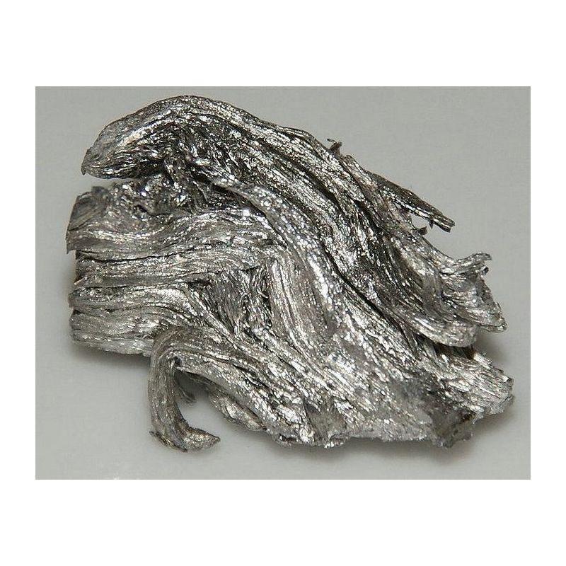 Kov Erbium 99,9% čistý kovový kovový prvek Er prvek 68, kovy vzácné