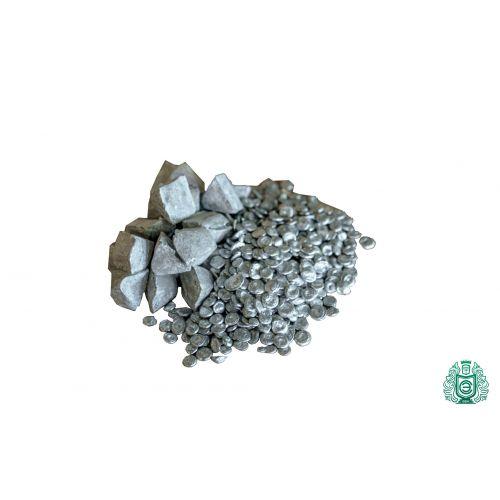 Čistota zinku Zn 99,99% surový kovový prvek z čistého zinku 30 pyramid 10gr-5 kg,  Vzácné kovy