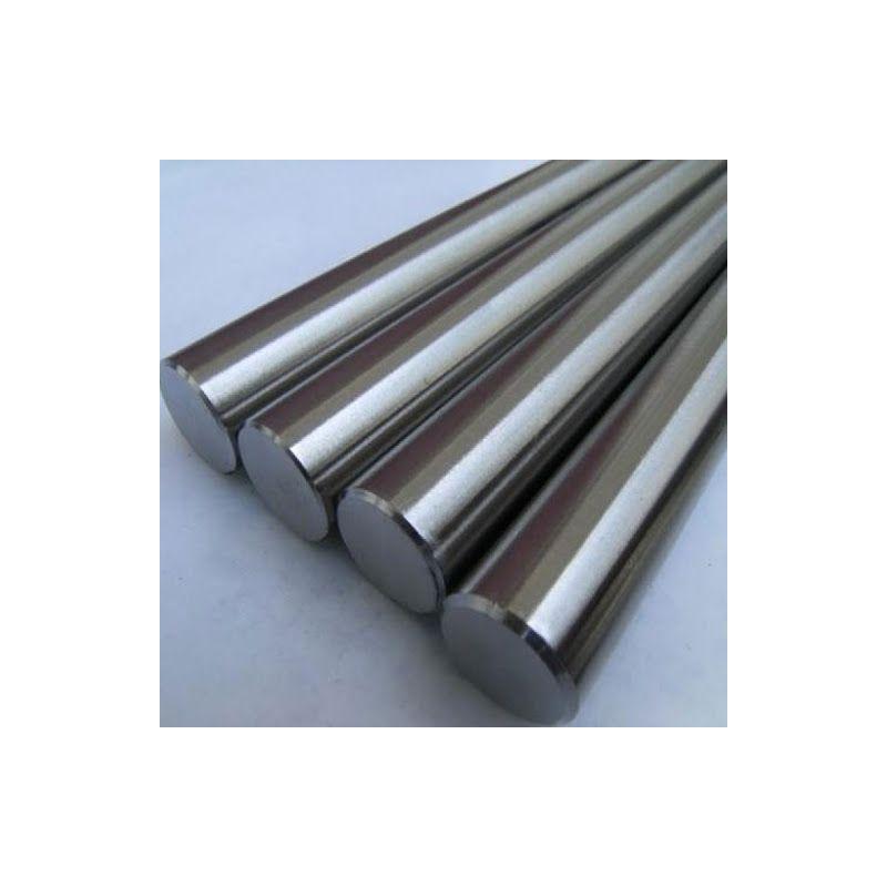 Kovová tyč s niobem 99,9% od Ø 2 mm do Ø 120 mm Niob Nb Element 41,  Vzácné kovy
