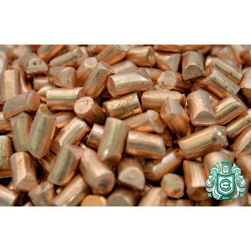 Měděné granule 99,9% prvku 29 měděných kusů odlitých z čistého kovu litých 25gr-5 kg,  Kategorie
