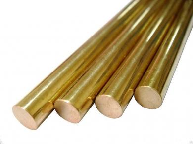 Bronzová kulatá tyč. Funkce a aplikace